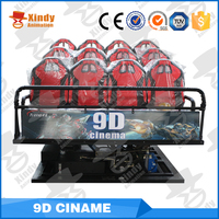 China Manufacturer Investment Children Game 5D Cinema With Cabinet