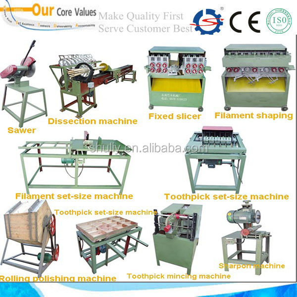 toothstick machinery/bamboo toothpick making machine 008613673685830