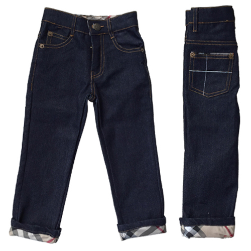 Boy Jeans Fashion 2016 Autumn Denim Trousers Casual Kids Clothes Plaid Baby Boys Clothing Spring Brand Children Long Pants