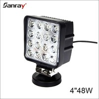 "Factory directly spot flood combo beam 4"" 48w square led driving lights with CE ,Rohs"