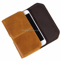 For iPhone Case 6 plus Custom Genuine Leather Belt Clip Flip Wallet Case for iPhone 6