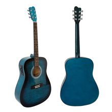 Wholesale factory price Custom Brands Color Acoustic Guitars made in China