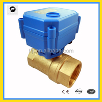 CWX-15Q plastic gear-box low noise solenoid ball valve for mini auto-control water system
