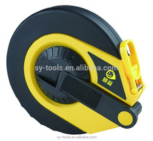 Customized round shape plastic new ABS elastic measuring tape