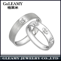 jewellery making supplies 925 sterling silver jewelry set wholesale fashion curved wedding bands for couple