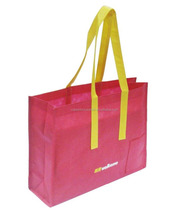 Non Woven Material and Promotion Style shopper tote bags/Strength bag