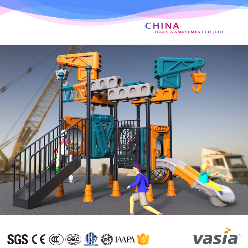 2016 New Design Galvanized Pipe Material Equipment Outdoor Playground Fences