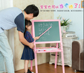 2016 new design super size wooden Lifting creativaly double-sided Magnetic Easel for Children