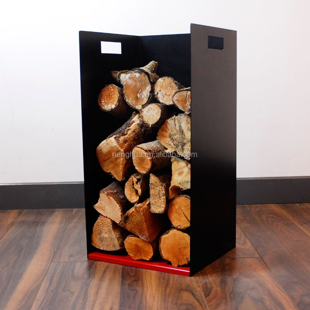 Firewood Log Store Holder for Woodstove Fireplace Wood Holder