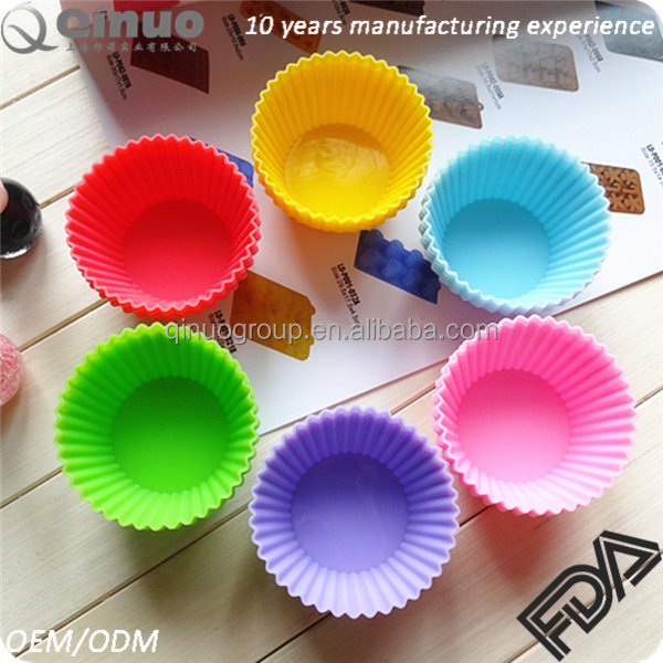 Baking & Pastry Tools silicon cupcake mold Muffin cups cake mold