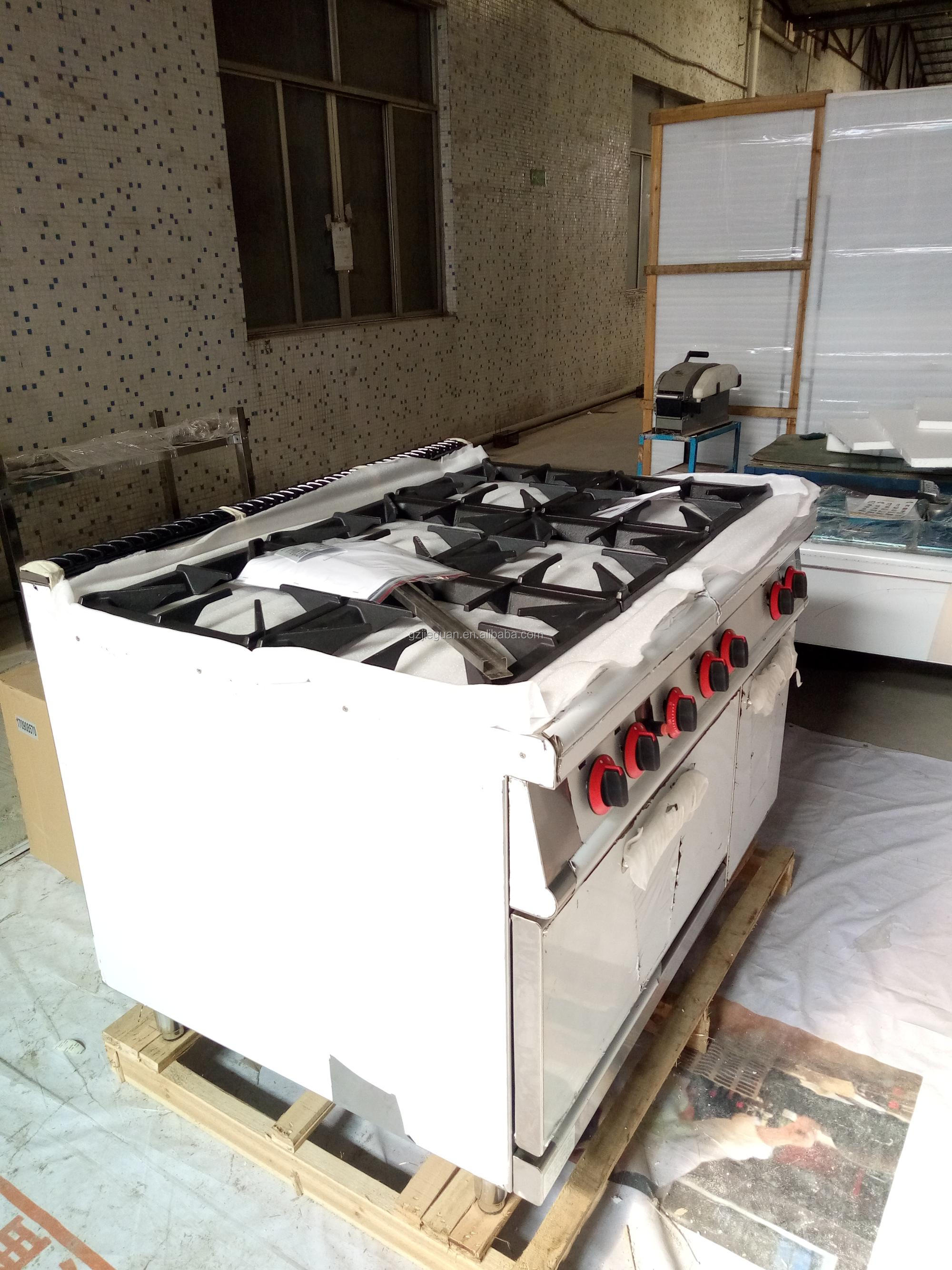 Gas Range with oven with 6 burners GH-997A