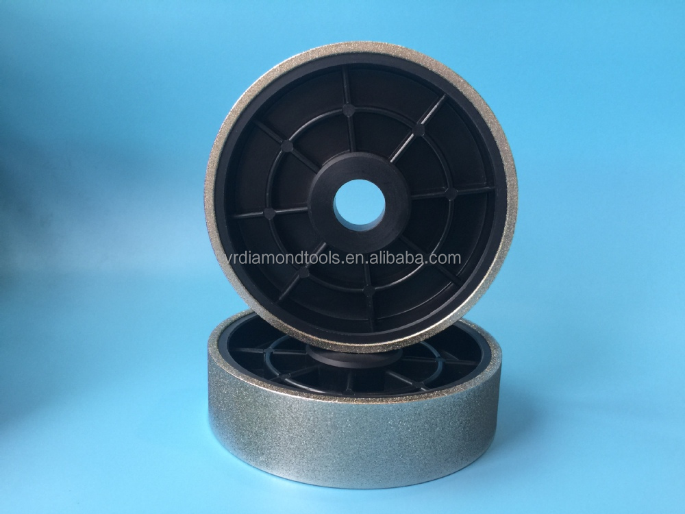 Good quality Plastic Electroplated diamond polishing and grinding wheel for gemstone and jade