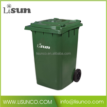 Plastic outdoor rubber can dustbin waste trash can