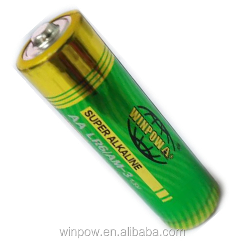 open circuit 1.55 voltage super alkaline AA battery