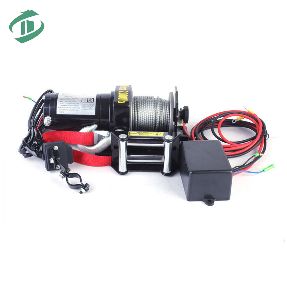 Wire Rope Pulling Electric Winch Marine 100kg Electric Winch - Buy ...