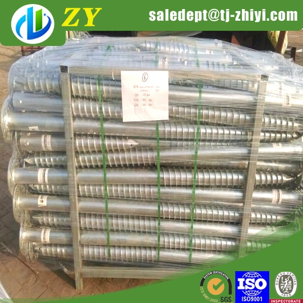 Cheapest Hot dipped galvanzied Ground Screw used for Sand