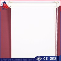 CE, RoHS Certification best quality sun screen blind fabric
