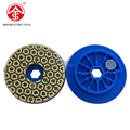 Honeycomb Diamond Resin Polishing Disc with Snail Lock