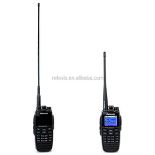 2016 twin antenna design Direct UK AU power adapter plug DPMR Free headset UHF VHF dual band 256CH handheld DPMR Digital Radio