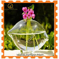 Clear decorated Vases
