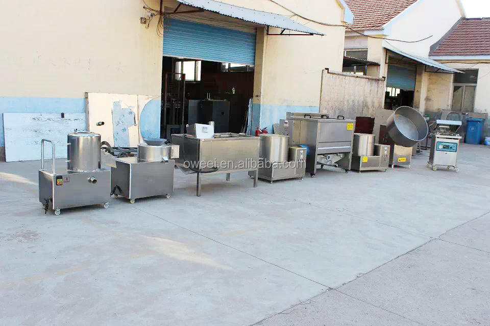 Best selling semi automatic potato chips making machine