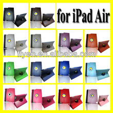 LEATHER 360 DEGREE ROTATING CASE COVER STAND FOR NEW APPLE iPAD 5 iPAD AIR Smart Cover 2013