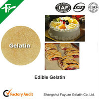 cakes & pastries ingredients, natural food grade gelatin for cakes & pastries