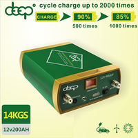 New hot portable deep cycle 2000 times 12V 100ah 200ah dry cell lithium ion solar battery for solar system car jump start