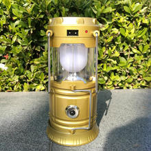 220V rechargeable lamp led solar camping lantern, solar camping light , camping led lantern
