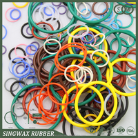 small Colorful rubber o ring in different hardness for Auto Electrical Systems