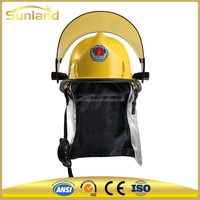 Plastic safety fire helmet rescue helmet(hard helmet) with great price