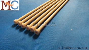 Refractory Ceramic Insulator Thermocouple Protection Alumina Tube