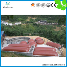Veniceton China Supplier Family Size Portable Assembly Biogas Digester for Home