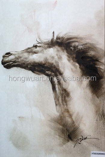 horse oil painting canvas painting wall art