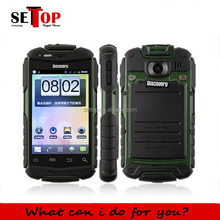 Original Discovery V5+ 3.5 inch Screen Android Dual Core Dual SIM Dustproof Waterproof Shockproof Smart Phone
