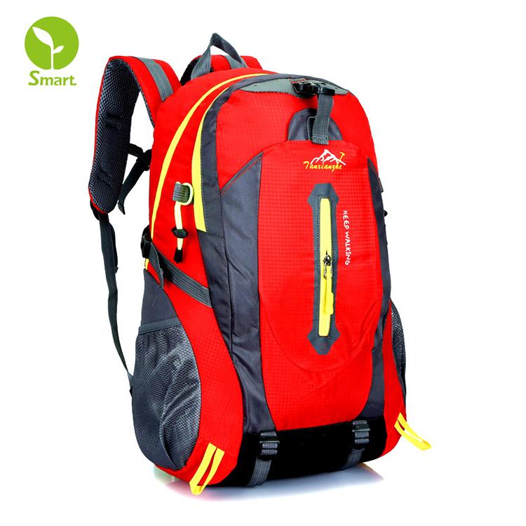 Sports & Entertainment Hard-Working Travel Backpack Nylon Outdoor Mountaineering Bag Diamond Lattice Folding Backpack Cheap Sales 50%
