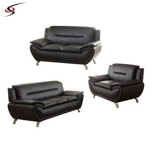 Germany Living Room Leather Sofa Set Furniture