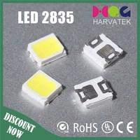 High quality 0.2w white 2835 taiwan epistar chip led