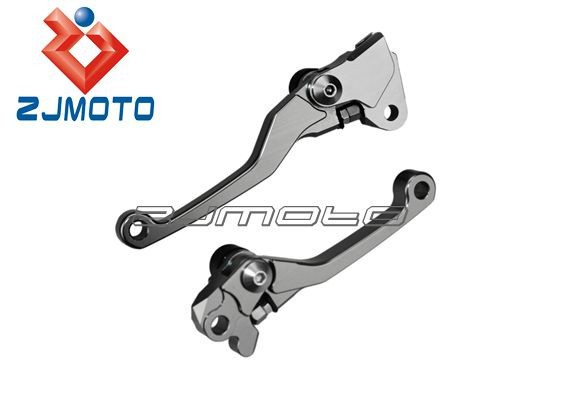 ZJMOTO Adjustable Brake And Clutch Levers for YZ125/250 YZ250F YZ426F/450F Motorcycle Adjustable Brake Lever