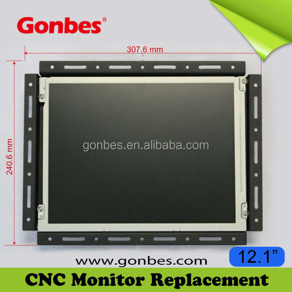 Manufacturer Supply! VGA LCD Screen for Matsushita TX-1404 CNC Monitor Replacement