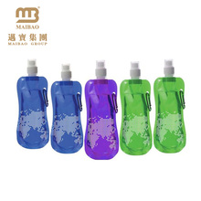 Accept Customized Transparent Clear Reusable Collapsible Liquid Packaging Spouted Plastic Drink Water Pouch