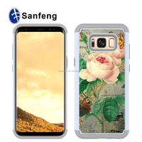 Hot Selling Combo Hard PC+TPU Case Cellphone Cover For Samsung Galaxy S8 Plus Case