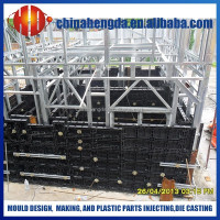 reusable wall panels for concrete formwork