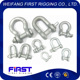 Bow-shape stainless steel anchor clevis shackle G2130