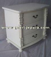 Wooden Bedside Table - Hotel Bedroom Usage - Furniture Manufacture Indonesia