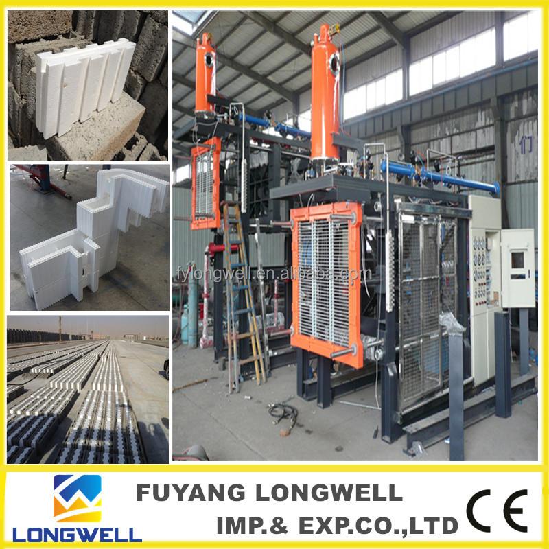 Iran hot sale eps foam icf building block molding machine for Icf blocks for sale
