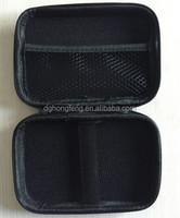 Cute Black EVA Tool Case with Zipper for Mobile Accessories