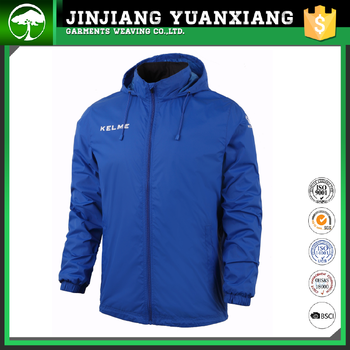 100% polyester men waterproof running fashion jacket for men