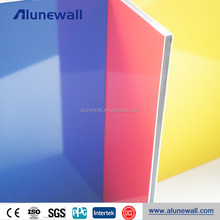 Flexible interior decorative wall material aluminium composite panels for balcony
