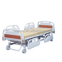 Hot selling ! Three Revolving Levers Manual Hospital Bed